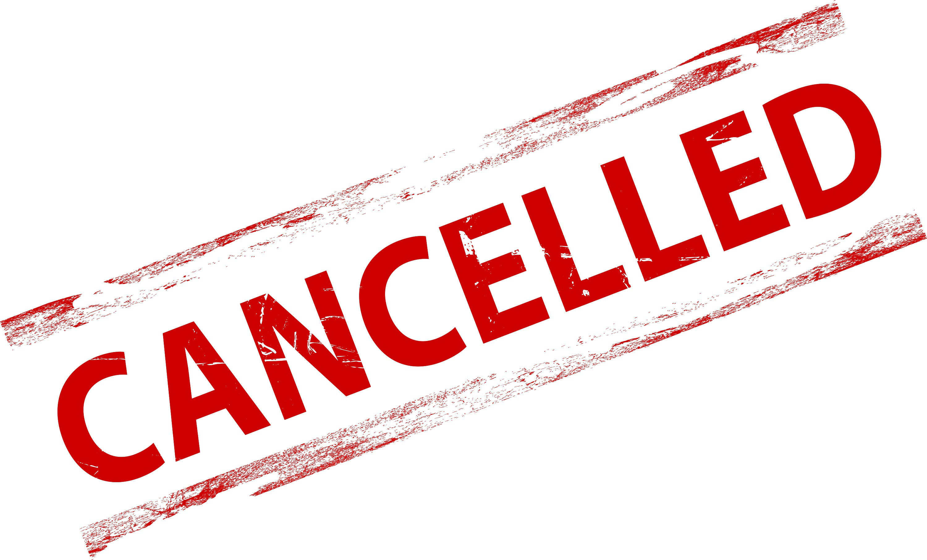 Image result for activities and events cancelled
