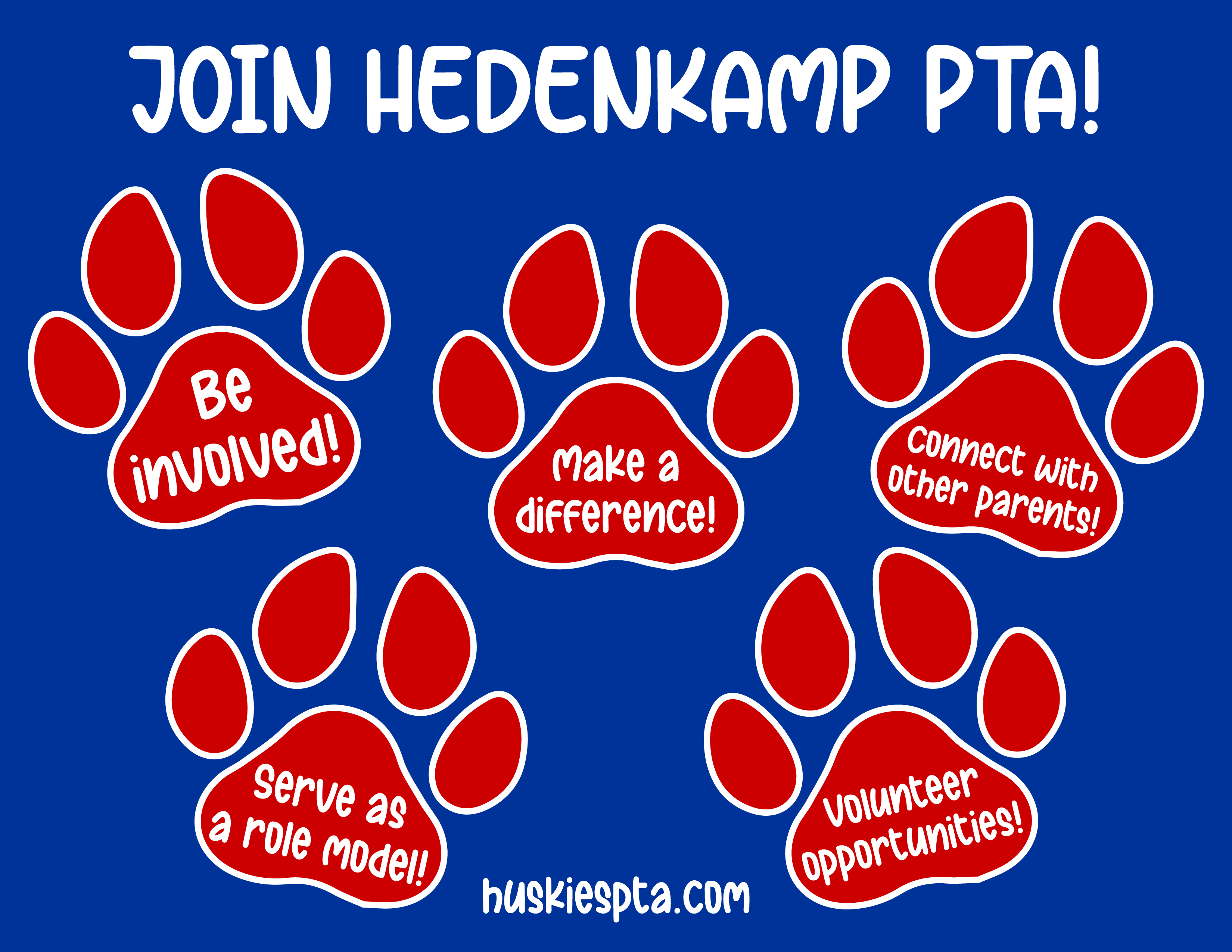 HED PTA Membership web graphic