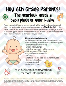6th Grade Baby Photo flyer online