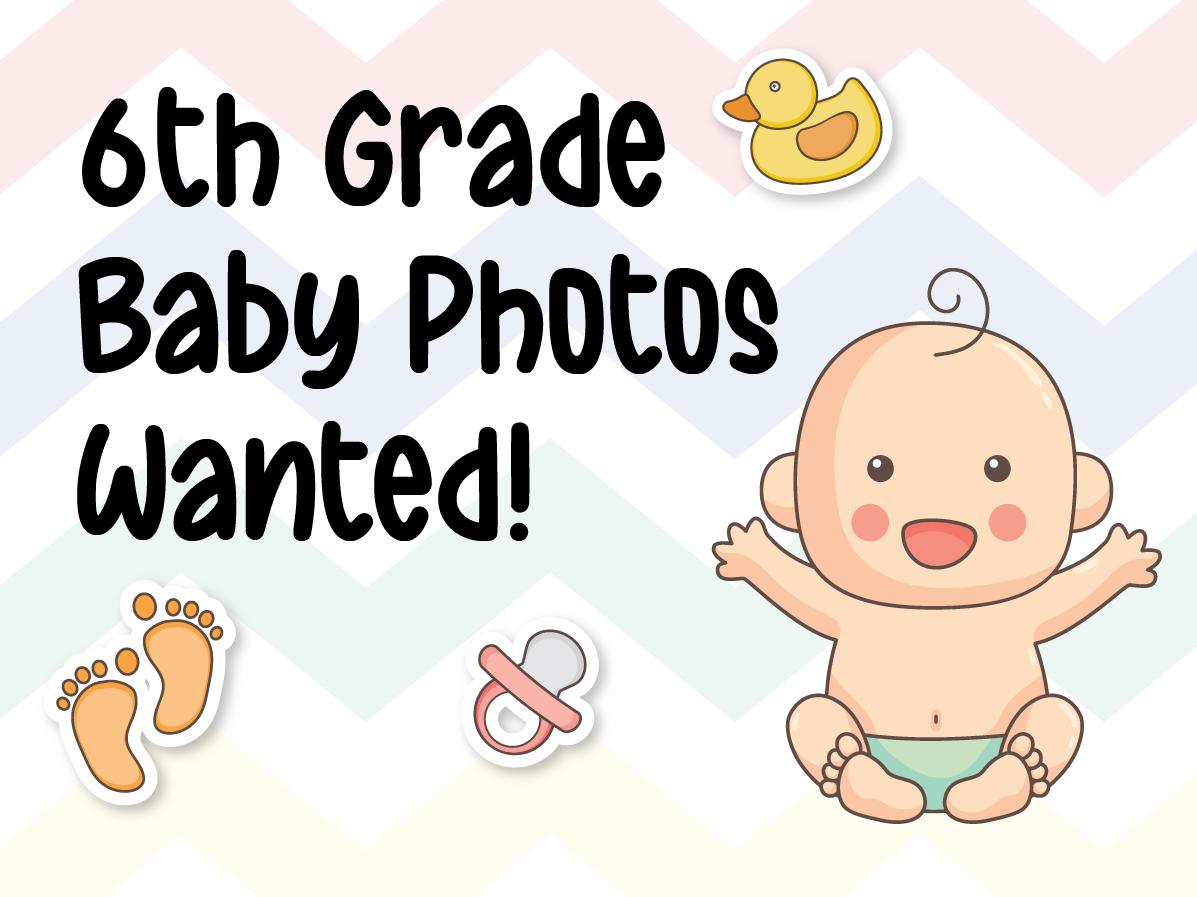 6th Grade Baby Photo web graphic 2