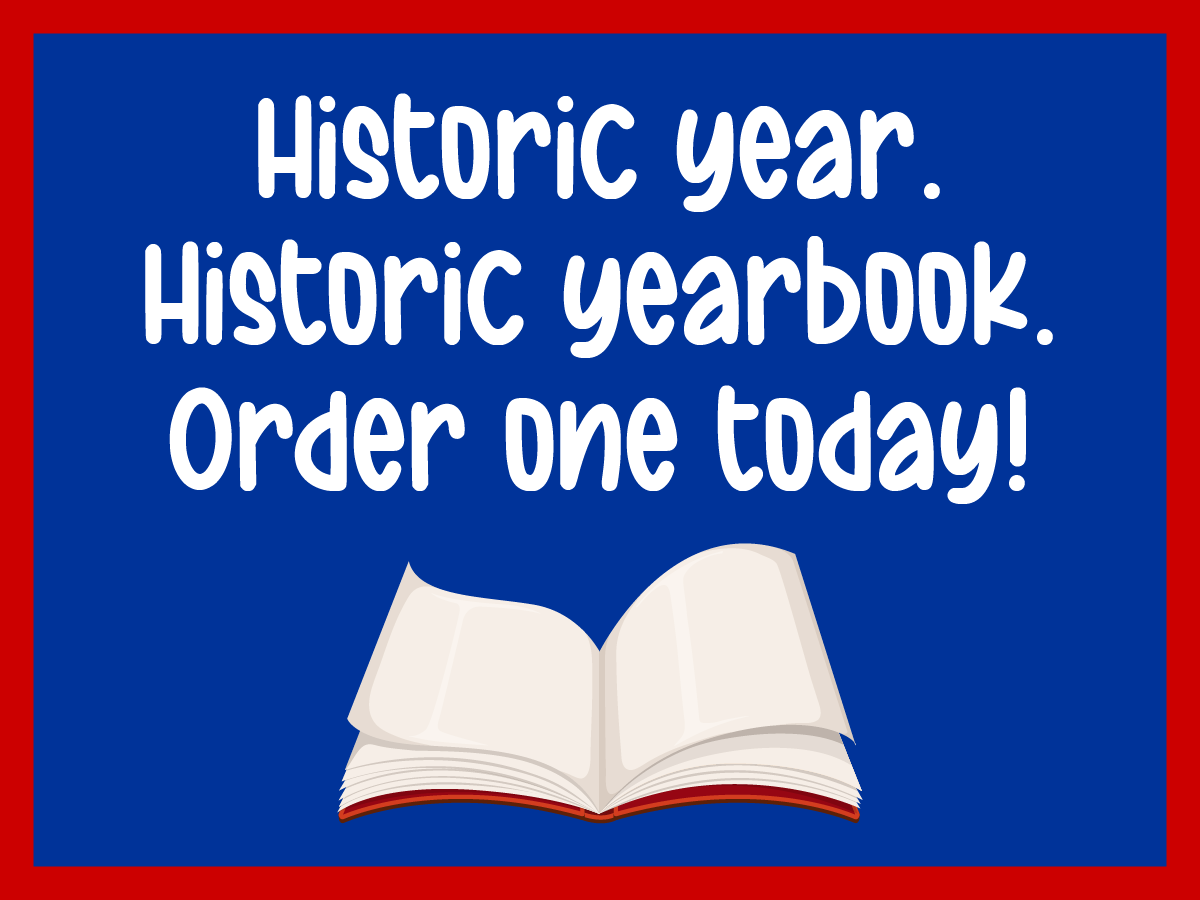 Yearbook Sale web graphic historic year